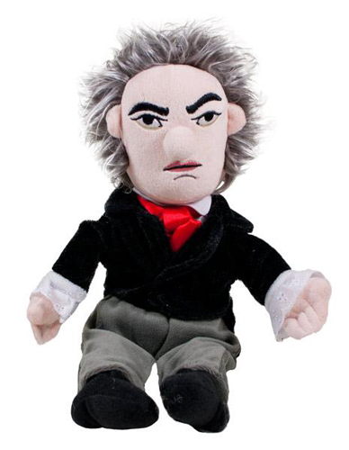 Ludwig Von Beethoven Little Thinker Doll