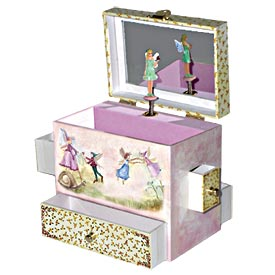 Enchantmints Musical Treasure Box with Green Fairy - Just In Case