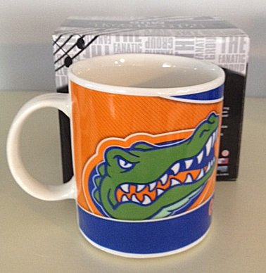 Musical College Mug University of Florida with  Gators Fight Song