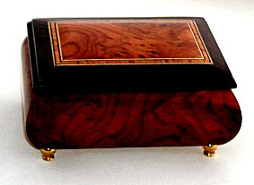 Handsome Italian two tone Music Box