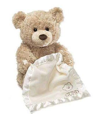 Plush Peek-a-Boo Bear by Gund