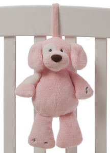 Plush Spunky Puppy Soothing Sounds by Gund only in Blue