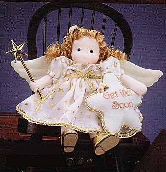 Musical Dolls - Get Well Soon Musical Angel Doll