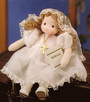 Musical Dolls - First Communion Girl (Blonde)