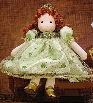 Musical Irish Princess, Movable Doll