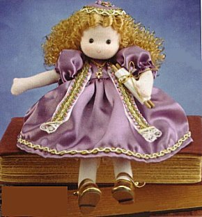 Musical Dolls - Bat Mitzvah Girl in Purple (Blonde)