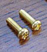 Brass Round Head Anchor Screws (10 pk)