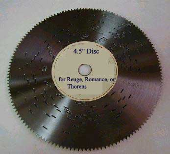 Disc 4.5 inch - Music Box Discs (made in USA)