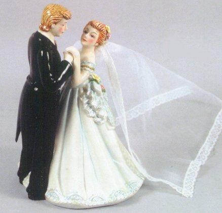 Porcelain Bride and Groom