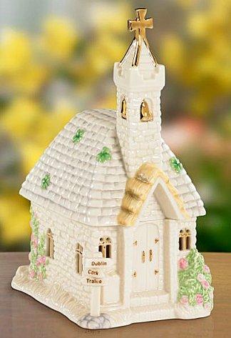 Lovely Lenox Saint Patrick's Church Music box