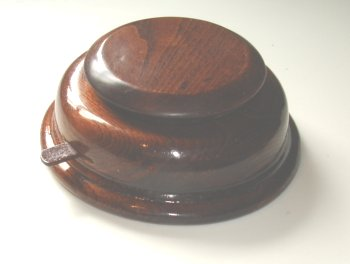 Wood Base with start-stop and rotating platform for