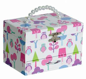 Childs Musical Ballerina Jewelry Box - Molly