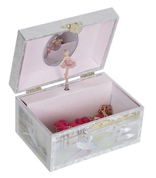 Childs Musical Ballerina Jewelry Box - Marissa