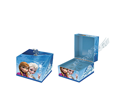 Frozen princess Elsa musical keepsake box