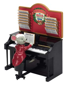 Magical Maestro Mouse by Mr Christmas