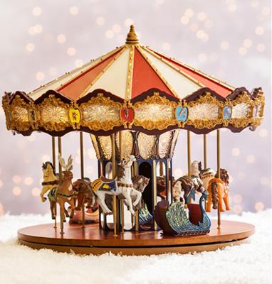 Grand Jubilee Carousel by Mr Christmas