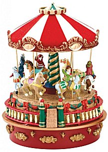 Mini  Carousel Carnival by Mr Christmas