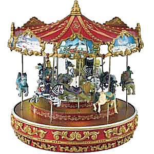 Pink Musical Carousel, Wooden Carousels, Magical Music Carousels ...