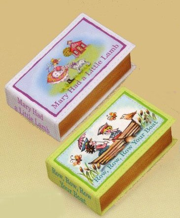 Nursery Rhyme Mini Book