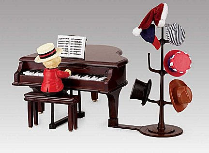 Teddy Takes Requests with Baby  Grand