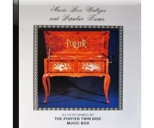 Porter CD Waltz and Popular Tunes