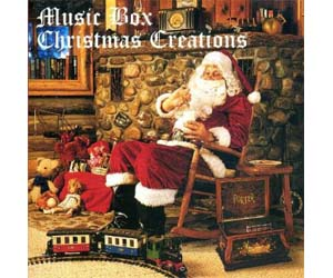Porter CD Music Box Christmas Creations