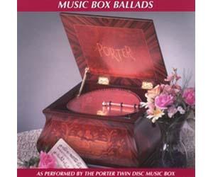 Porter CD Music Box Ballads