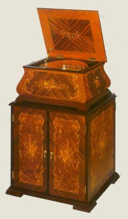 Porter Disc Player Music Box - The Baroque