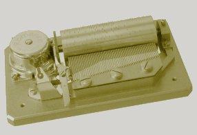 50 note Sankyo Orpheus music box mechanism (movement)