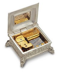 World's smallest Reuge Stellina Music Box in Presentation Case