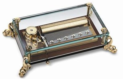 The Reuge Dauphin Crystal Musical Box