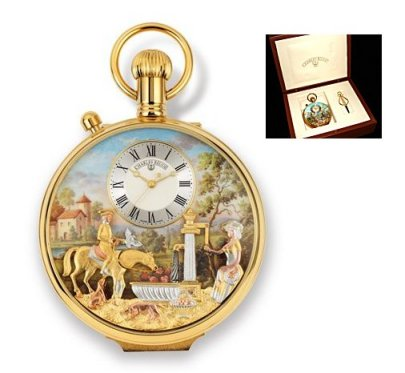 Charles Reuge Pocket Watch (with top side switch)