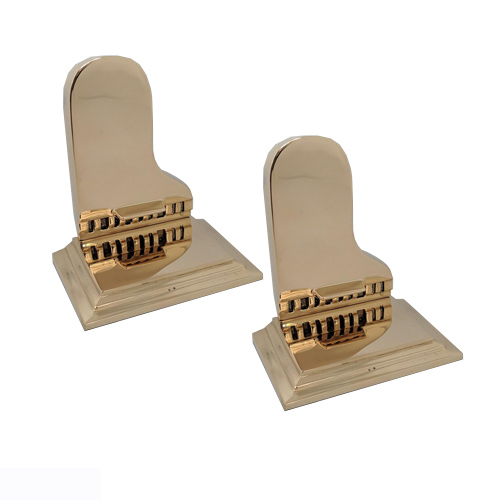 Brass Piano Bookends
