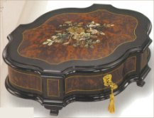 Reuge Mother-of-Pearl Rococo Musical Box (3.72)