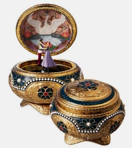 Nicholas and Alexandra  Anastasia Music Box
