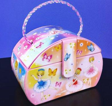 Musical Purse Jewelry Box
