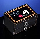 Phantom of the Opera Mask and Rose Musical Drawer Box