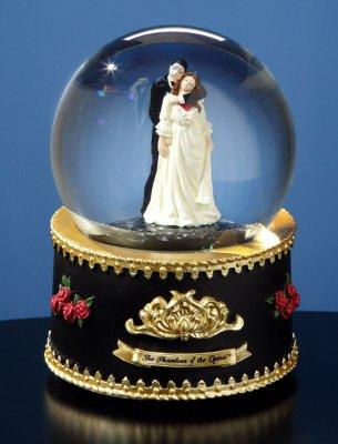 Phantom and Christine Water Globe