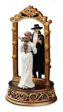 Phantom and Christine Mirror Figurine