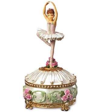 Music Box Ballerina Figurine Trinket