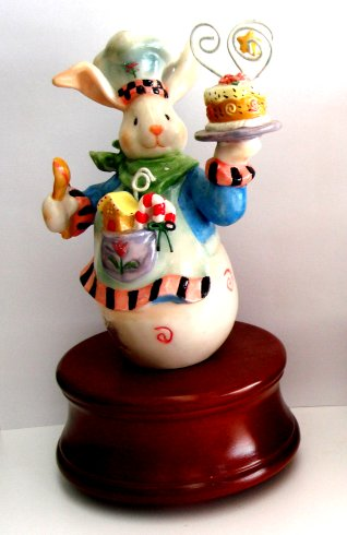 Bunny Chef Figurine