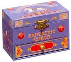Koji Murai blue musical jewelry box