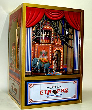 Animated Koji Murai Circus Parade Shadow Box Extra Large