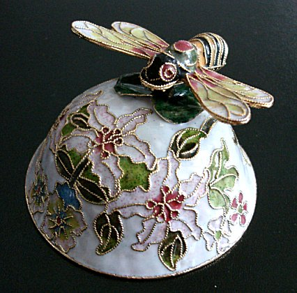 Cloisonne Musical Bumble Bee