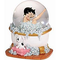 Betty Boop In Bubble Bath Musical Water