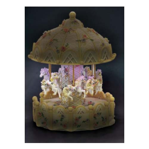 Musical Light Up Carousel with Horses