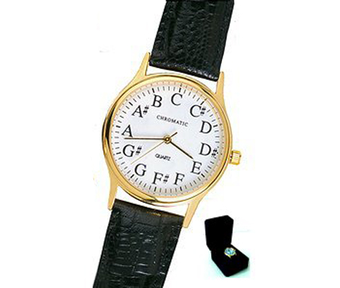 Chromatic Deluxe Gold Plated Watch