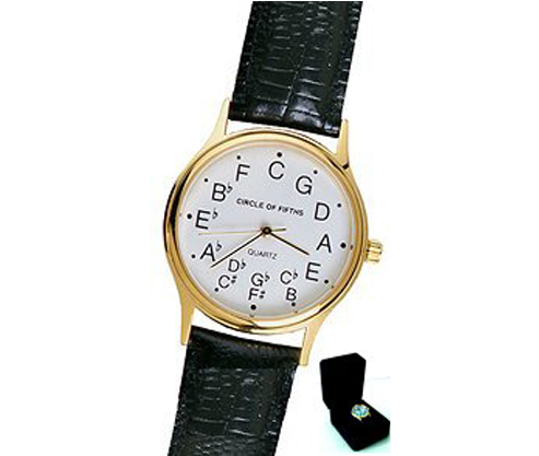 Circle of Fifths Deluxe Watch