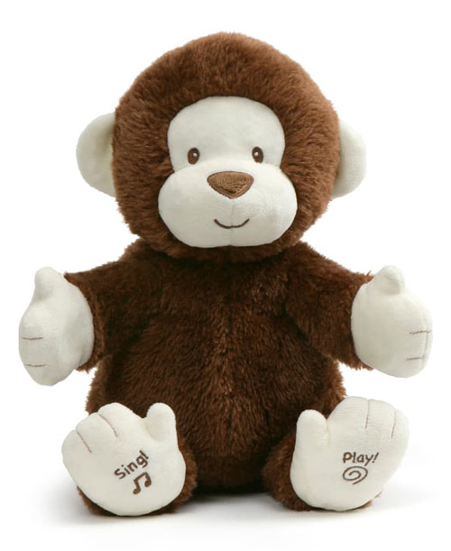 Clappy Monkey Plush Musical by Gund
