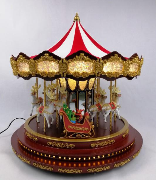 Deluxe Christmas Carousel